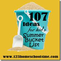 107 Summer Activities for Kids