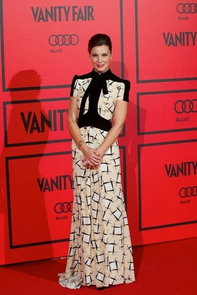 Mar Flores attends the Vanity Fair 5th anniversary party