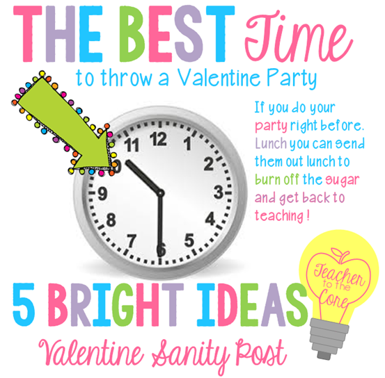 Bright Ideas for Valentine's Day Sanity