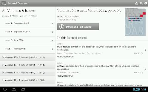 IJ Doc Analysis & Recognition - screenshot thumbnail