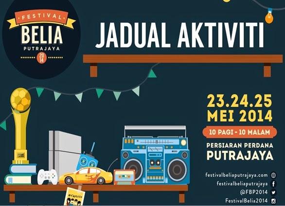 jadual aktiviti festival belia 2014