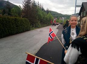17. maj på Høle, Norge, 2014