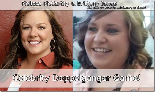 Celebrity Doppelganger Game