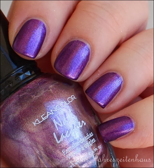 Violett Kleancolor Metallic Purple 4