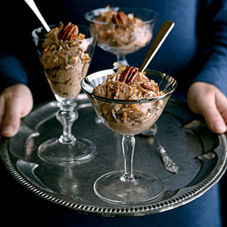 German Chocolate Mousse.