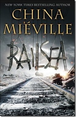 book cover of Railsea by China Miéville
