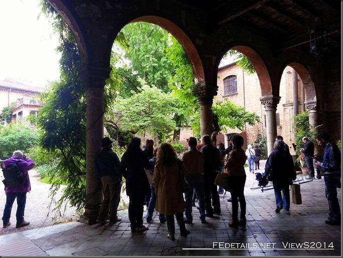 Giardino di Palazzo Scroffa, Ferrara, Photo1