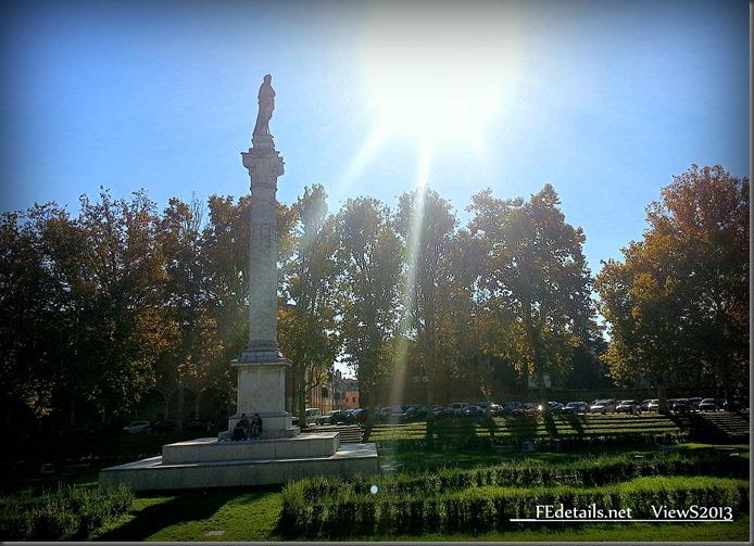 Piazza Ariostea, Ferrara, Italy