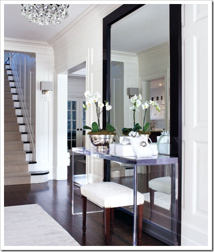 entryway Style @ Home