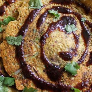 Savory Chickpea Veggie Pancakes.
