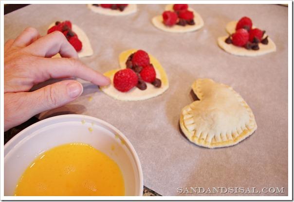 sealing pastry