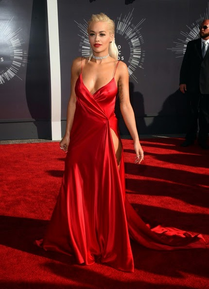 Rita Ora Arrivals MTV Video Music Awards Part