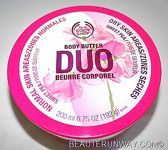 The Body Shop Body Butter Duo Sweet Pea