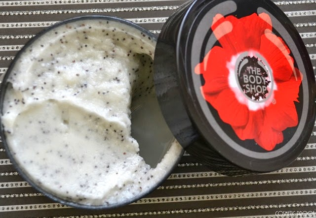 The Body Shop Smoky Poppy Collection Poppy Seed Scrub Review