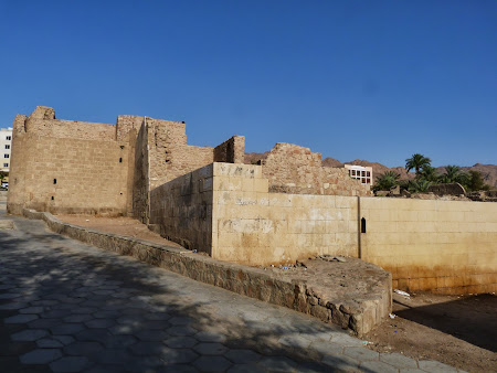 Obiective turistice Iordania: Citadela din Aqaba