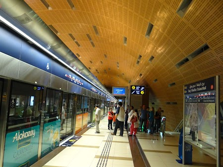 Peron metro Dubai