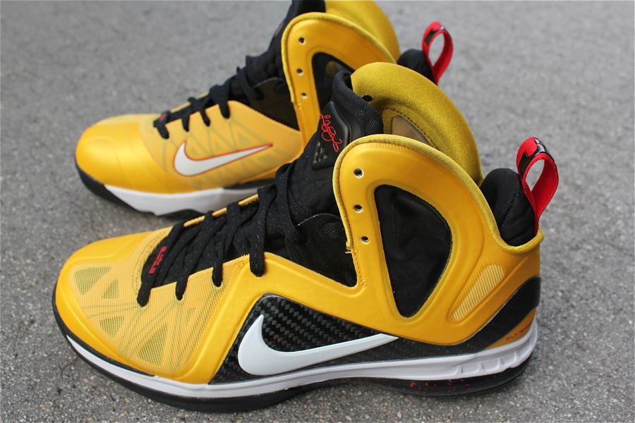 Nike LeBron 9 Varsity Maize aka 8220Taxi8221 Arriving at Retailers ... edd2e8f45fb8
