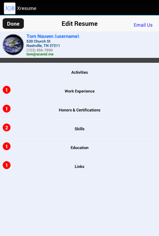 Job Search Plus Resume- screenshot