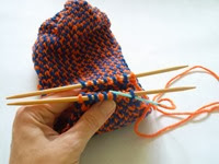 Knitting Tips: How to use the Kitchner stitch to graft the toe of a sock | The Chilly Dog