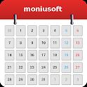 Calendrier Moniusoft icon