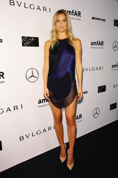Bar Refaeli-amfAR Milano 2014 Arrivals Milan Fashion Week