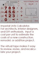 Screenshot of Architect Design Estimating