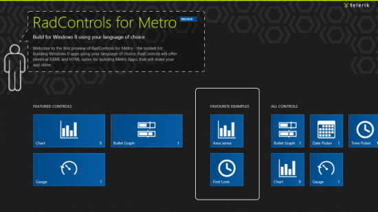 Telerik RadControls for Metro