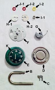 Sheva Apelbaum Combo Lock Parts 2
