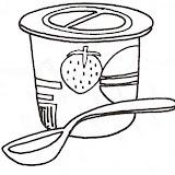Colorear Dibujos De Yogures