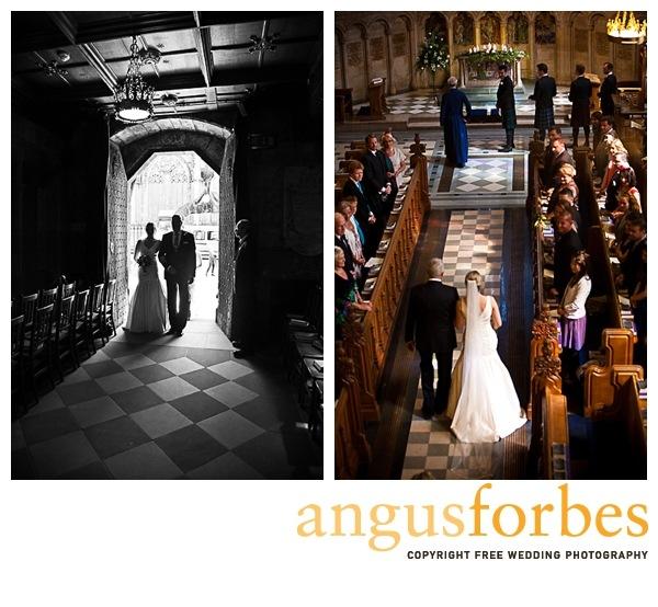 bride arriving Scottish wedding Photographer Dundee_032