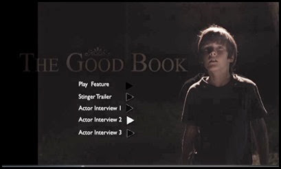 The Good Book Menu Screen