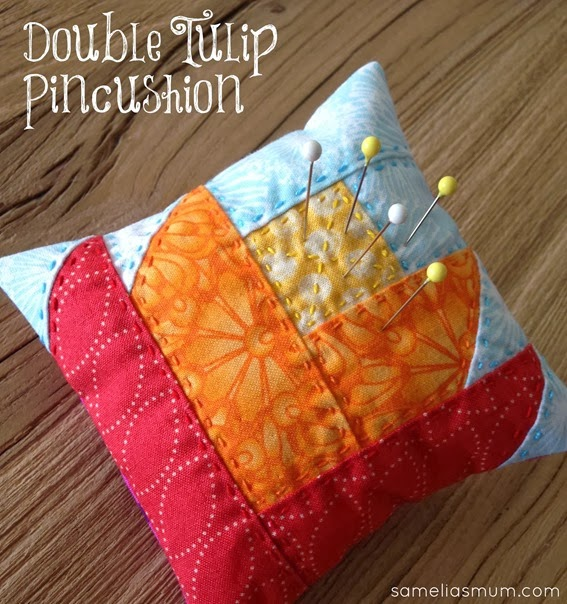 Double Tulip Pincushion