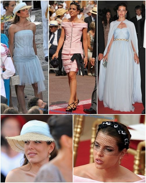 Charlotte Casiraghi Monaco Royal Wedding