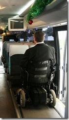 Lugares acessíveis: Ônibus adaptado