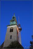 Marienkirche mit Fernsehturm