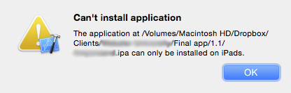 Tips & Techniques: How to install an  ipa file on an iPad or