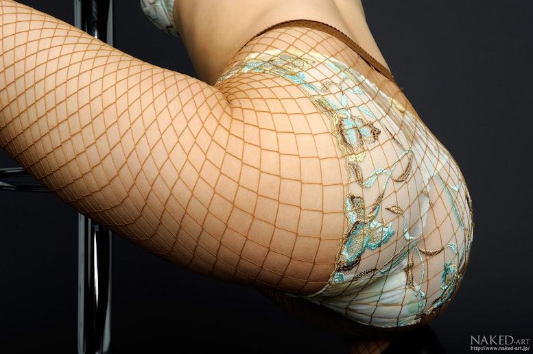 Naked-Art 441 Photo No.00125 市ノ瀬明日香 網タイツスーパーレッグ 高画質フォト