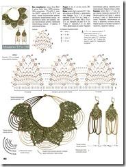 collar de crochet picos