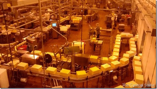 Tillamook cheese production