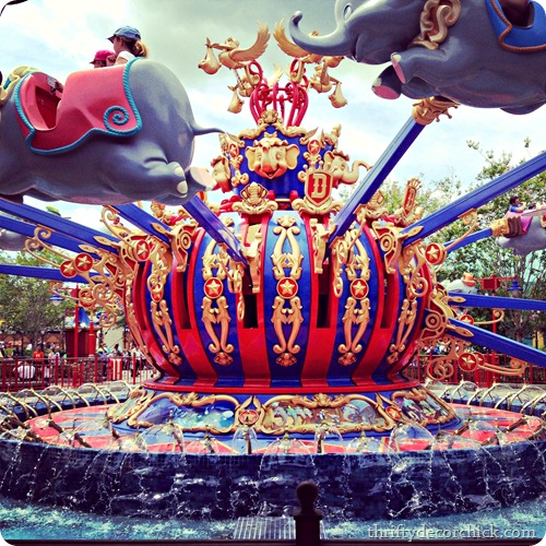 dumbo ride Disney