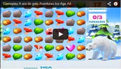 gameplay a era do gelo adventures