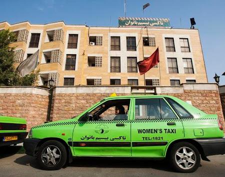 Taxi femei Iran