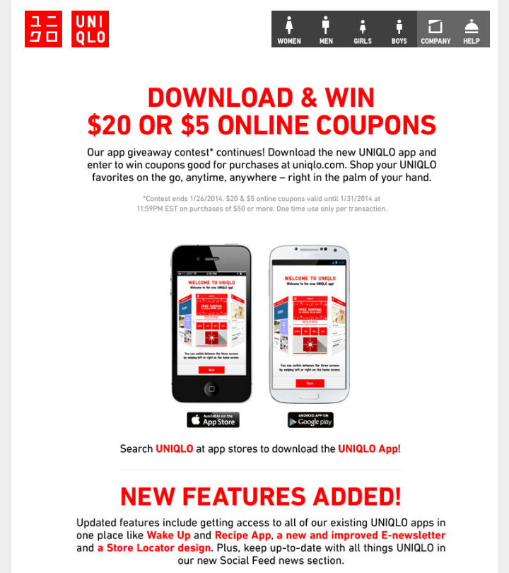 Terresa S Steals And Deals Uniqlo Giveaway Contest
