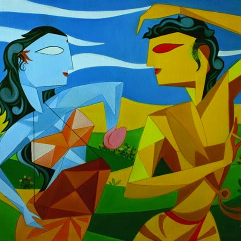 Amar Singha - My Paintings on Classical Music