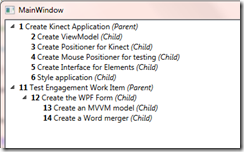 Using the TFS API to display results of a Hierarchical Work