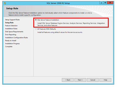 SQL-Server-Feature-Installation