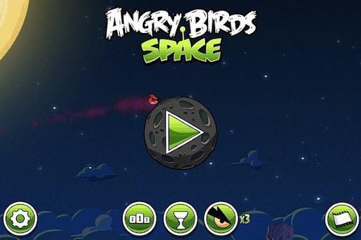 Angry Birds Space para Windows Phone