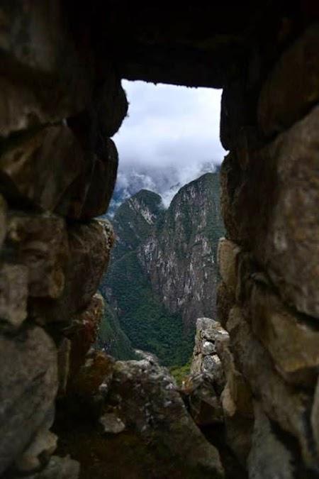 Fereastra din Machu Picchu
