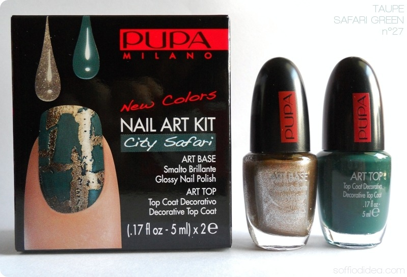 PUPA NAIL ART KIT safari 6