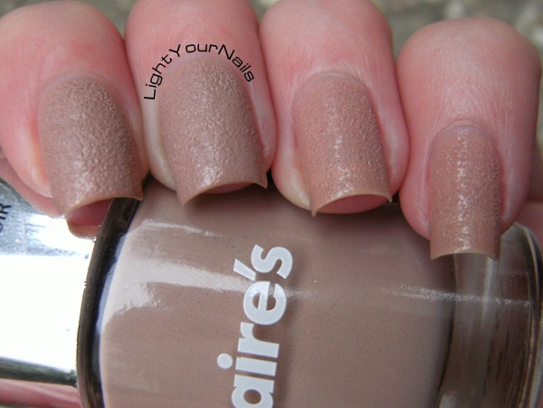 Claire's Nude leather effect